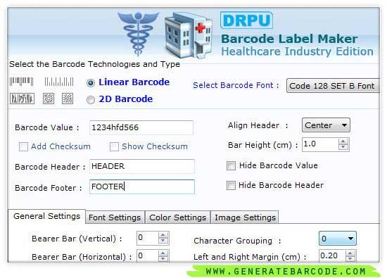 Barcode Generator Software 7.3.0.1 full